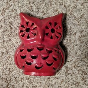 Other - Owl Accent Decor/Candle Holder